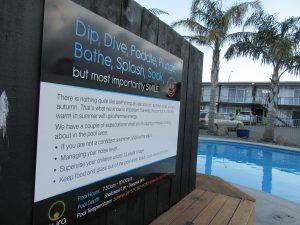 Aura Accommodation - Pool Expectations - Self-Catering Rotorua Accommodation